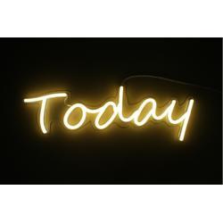 丽雨LED霓虹灯标识标牌艺术灯today图片