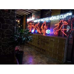 丽雨发光字店铺装饰用灯足球图案图片