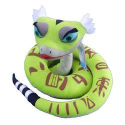 希乐毛绒蛇动物填充玩具可定制图片