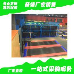 儿童乐园厂家 室内蹦床钱柜娱乐销售 网红同款蹦床公园 中小型乐园规划布局 游乐设施图片