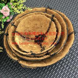椰棕花篮,椰棕吊篮,椰衣,椰棕椰垫图片