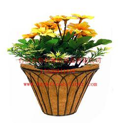 椰棕花篮,椰棕吊篮图片