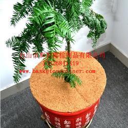 平面垫,椰棕花篮图片