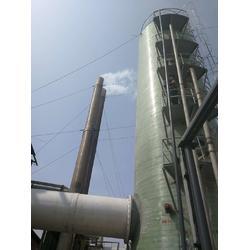 河北玻璃钢脱硫塔-玻璃钢脱硫塔生产厂图片