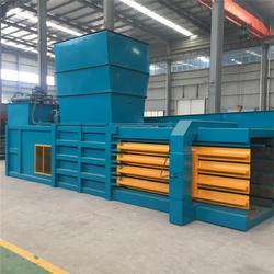 大型卧式打包机生产线 160全自动液压打包机豫太机械图片