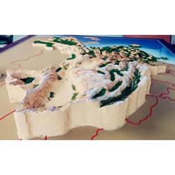 三木模型| 沙盤模型|地形地貌沙盤
