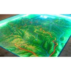 邢台-沙盘模型-地形地貌模型图片