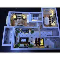 三木模型-室内平面单元模型沙盘-沙盘品牌图片