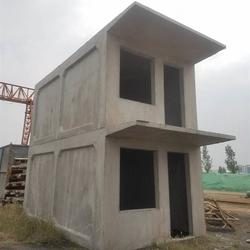 活动房水泥盒子房图片