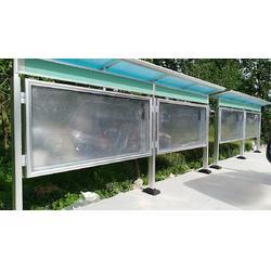 铝合金双面户外报栏实用性强图片