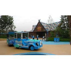 游乐园电瓶小火车图片