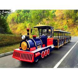 29座游乐园景区代步一拖三观光小火车图片