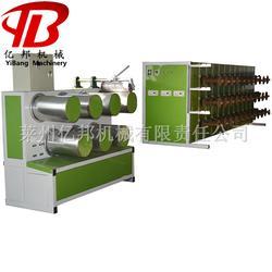 SJL亿邦7042建工线拉丝机器,塑料圆丝填充绳建工线拔丝机械设备图片