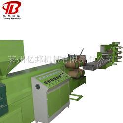 SJL亿邦65型亚麻丝拉丝机,PPPE塑料扁丝挤出拔丝机组报价图片