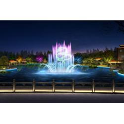 音乐喷泉灯光秀设计图片
