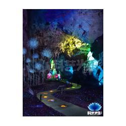 6D溶洞魔幻灯光秀图片
