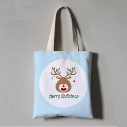 帆布麻布毕业设计学校学院棉布圣诞礼品广告环保毡布手提袋订做图片