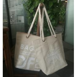 单肩手提麻花绳金属空心钉箱包手提袋定制礼品广告购物袋工具包图片