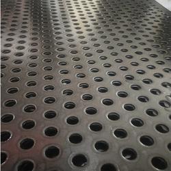 不銹鋼沖孔網 金屬打孔板 鍍鋅圓孔鋼板篩網 洞洞板加工定做圖片