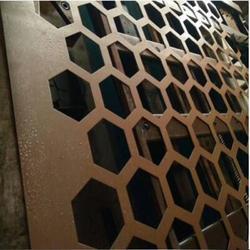 孔网冲孔板装饰过滤网304不锈钢菱型冲孔网1*2m图片