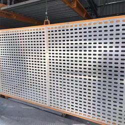工厂加工定制 冲孔板方孔 冲孔板护栏网 防护用冲孔板 来图可定制图片
