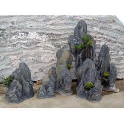 假山制作-千层石-园林假山石-龟纹石-英石-景观刻字石图片