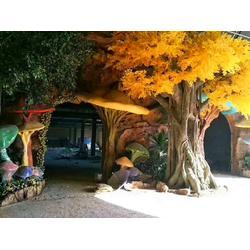 仿真树和仿真水泥树在生活中的用途与造型图片