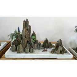 园林塑石景观工程 假山流水喷泉工程 假山设计制作图片