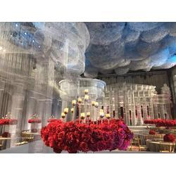 婚慶布景婚禮堂布景酒店婚禮堂花藝裝飾一站式婚禮堂圖片