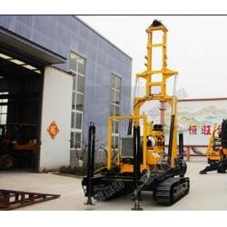 HQZ150D打井机采用挖掘机履带底盘,越野性能强图片