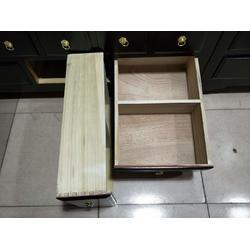 抛售实木中药柜-保定物超所值的1.2米百子柜推荐图片