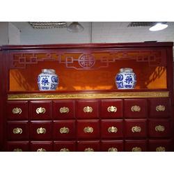 江津实木中药柜-哪家有出售展示型中药柜图片