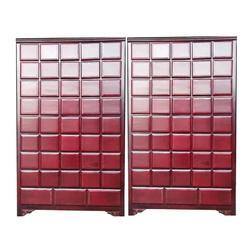 商丘新款实木中药柜-保定实惠的1.2米百子柜哪里买图片