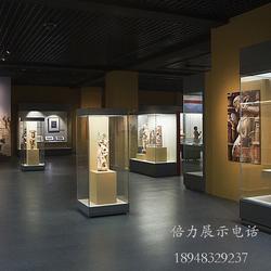 博物馆展厅展柜制作,艺术美术展馆展示柜生产图片