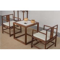 仿古茶楼家具定制  实木茶楼家具定做加工厂 中式茶楼家具定做图片