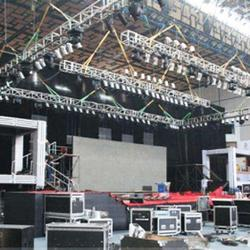 长沙搭建舞台公司-长沙展览展示搭建图片