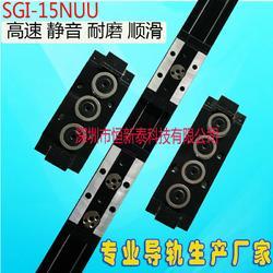 双轴心直线导轨SGI-15NUU码坯机滑轨工厂直销图片