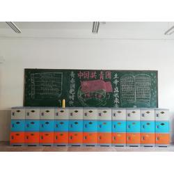 abs塑料更衣柜小学生学校学生书包柜教室储物柜班级收纳柜带锁图片