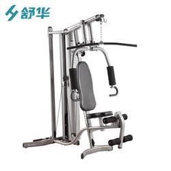 綜合健身器材 多功能單人站訓練器 健身房力量訓練器材圖片