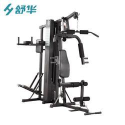 商用多功能綜合訓練器三人站訓練器廠家直銷 綜合力量訓練器材圖片
