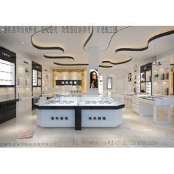 60平方眼镜店装修风格 快时尚眼镜柜台设计定制 眼镜店柜台生产厂家 展柜设计图图片