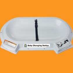 衛生間洗手臺面嬰兒換尿布臺圖片