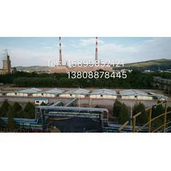 膜结构污水池加盖工程 环卫工程加盖 污水处理厂顶棚图片