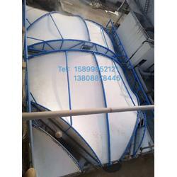 供应污水池膜结构 ,调节池浮盖膜结构图片
