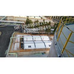 污水池膜结构 气浮池膜结构顶棚 废水处理站膜结构大棚图片