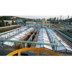 污水池加盖,浓缩池膜结构防腐棚盖,锁定富特膜结构图片