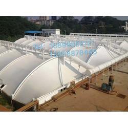 固定式、隨動式污水池加蓋,除臭鋼膜結構圖片