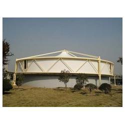 污水池加盖工程 污水处理厂顶棚 环卫工程膜结构图片