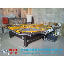 扶风连续缠绕-专业连续缠绕生产线-连续缠绕玻璃钢管道图片
