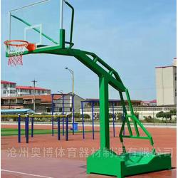武夷山學校籃球架品質優良圖片